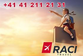 Kontakt - Raci Travel
